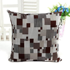 Bamboo Mosaic Cushion Cover - BoardwalkBuy - 2