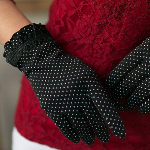 Cotton Lace Gloves - BoardwalkBuy - 1