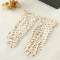 Cotton Lace Gloves - BoardwalkBuy - 3