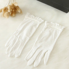 Cotton Lace Gloves - BoardwalkBuy - 2