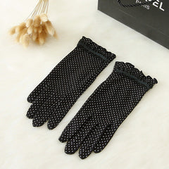 Cotton Lace Gloves - BoardwalkBuy - 4