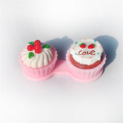 Cream Cake Travel Contact Lenses Box - BoardwalkBuy - 2