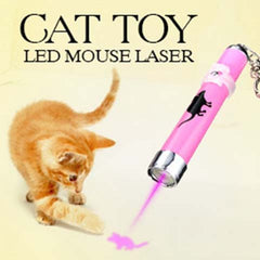 Red Laser Pointer Infrared Pen With LED Light Pet Cats Toy
