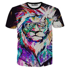 Creative Printed 3D Men's Short Sleeve T Shirt - BoardwalkBuy - 7