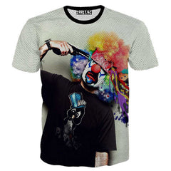 Creative Printed 3D Men's Short Sleeve T Shirt - BoardwalkBuy - 2
