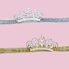 Crystal crown Children's Hair Band - BoardwalkBuy - 2