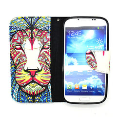 Side Flip Leather Case for Samsung S4 - BoardwalkBuy - 4