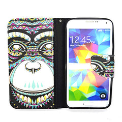 Cartoon Leather Case for Samsung Galaxy S5 - BoardwalkBuy - 4