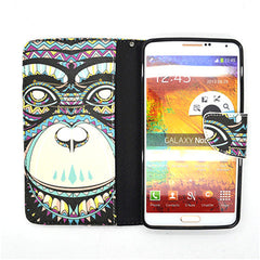 Painted Leather Case for Samsung Galaxy Note 4 - BoardwalkBuy - 3
