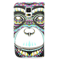 Cartoon Leather Case for Samsung Galaxy S5 - BoardwalkBuy - 2