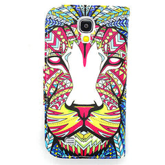 Side Flip Leather Case for Samsung S4 - BoardwalkBuy - 2