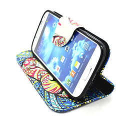 Side Flip Leather Case for Samsung S4 - BoardwalkBuy - 3