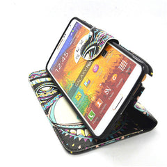 Painted Leather Case for Samsung Galaxy Note 4 - BoardwalkBuy - 4