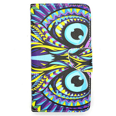 Owl Leather Case for Samsung Galaxy Note 4 - BoardwalkBuy - 1