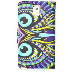 Owl Leather Case for Samsung Galaxy Note 4 - BoardwalkBuy - 2