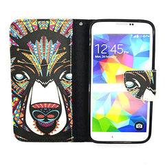 Side Flip Leather Case for Samsung Galaxy S5 - BoardwalkBuy - 3