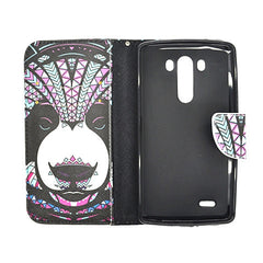Cartoon Stand Leather Case for LG G3 - BoardwalkBuy - 4