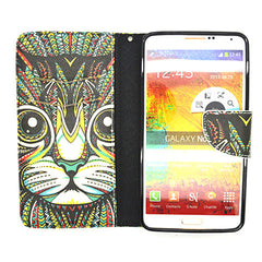 Stand Leather Case for Samsung Galaxy Note 4 - BoardwalkBuy - 4