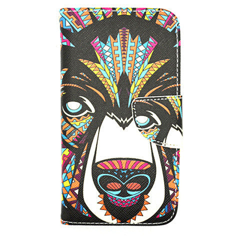 Side Flip Leather Case for Samsung Galaxy S5 - BoardwalkBuy - 1