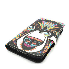 Side Flip Leather Case for Samsung Galaxy S5 - BoardwalkBuy - 4