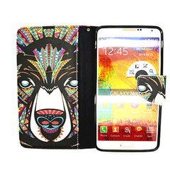 Printed Leather Case for Samsung Galaxy Note 4 - BoardwalkBuy - 3