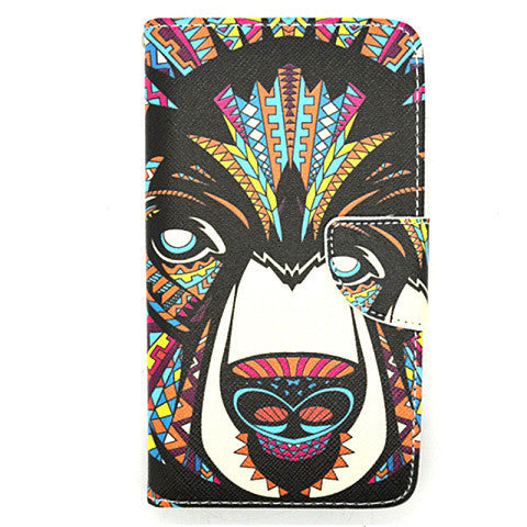 Printed Leather Case for Samsung Galaxy Note 4 - BoardwalkBuy - 1