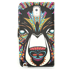 Printed Leather Case for Samsung Galaxy Note 4 - BoardwalkBuy - 2
