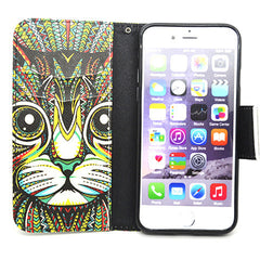 Side Flip Leather Case for iPhone 6 - BoardwalkBuy - 4