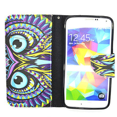 Owl Leather Case for Samsung Galaxy S5 - BoardwalkBuy - 4