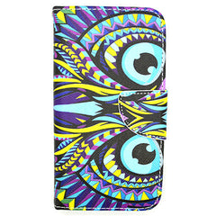 Owl Leather Case for Samsung Galaxy S5 - BoardwalkBuy - 1
