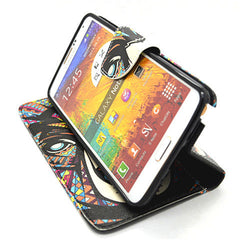 Printed Leather Case for Samsung Galaxy Note 4 - BoardwalkBuy - 4