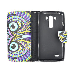 Owl Stand Leather Case for LG G3 - BoardwalkBuy - 4