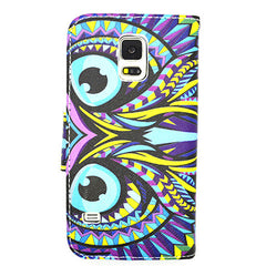 Owl Leather Case for Samsung Galaxy S5 - BoardwalkBuy - 2