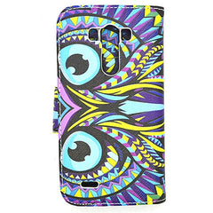 Owl Stand Leather Case for LG G3 - BoardwalkBuy - 2