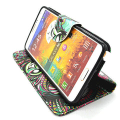 Stand Leather Case for Samsung Galaxy Note 4 - BoardwalkBuy - 3