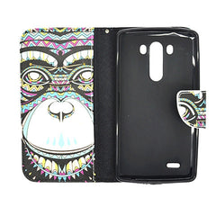 Leather Wallet Case for LG G3 - BoardwalkBuy - 4