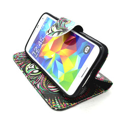 Stand Leather Case for Samsung Galaxy S5 - BoardwalkBuy - 3