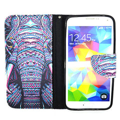 Elephant Leather Case for Samsung Galaxy S5 - BoardwalkBuy - 4