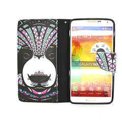 Leather Wallet Case for Samsung Galaxy Note 4 - BoardwalkBuy - 4