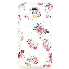 Floral Leather Case for Samsung Galaxy S4 - BoardwalkBuy - 2