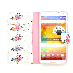 Floral Leather Case for Samsung Galaxy Note 4 - BoardwalkBuy - 4