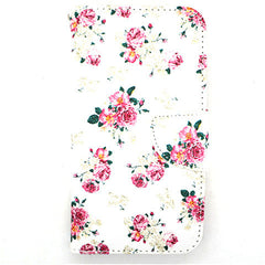 Floral Leather Case for Samsung Galaxy S5 - BoardwalkBuy - 1