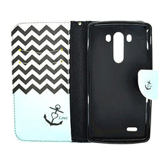 Side Flip Leather Case for LG G3 - BoardwalkBuy - 4