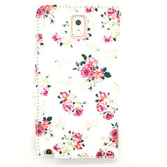 Floral Leather Case for Samsung Galaxy Note 4 - BoardwalkBuy - 2