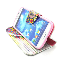 PU Wallet Case for Samsung Galaxy S4 - BoardwalkBuy - 3