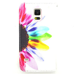 Side Flip Leather Case for Samsung S5 - BoardwalkBuy - 2
