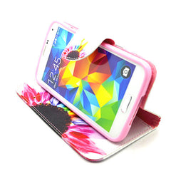 Side Flip Leather Case for Samsung S5 - BoardwalkBuy - 3