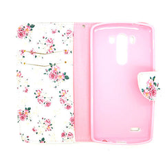 Floral Blossom Leather Case for LG G3 - BoardwalkBuy - 4