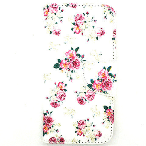 Blossom Leather Case For Iphone 6