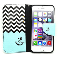Card Slots Leather Case for iPhone 6 - BoardwalkBuy - 4
